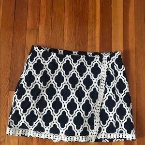 Playful printed skirt